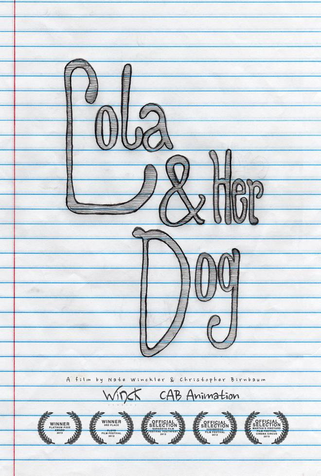 Lola & Her Dog - Poster