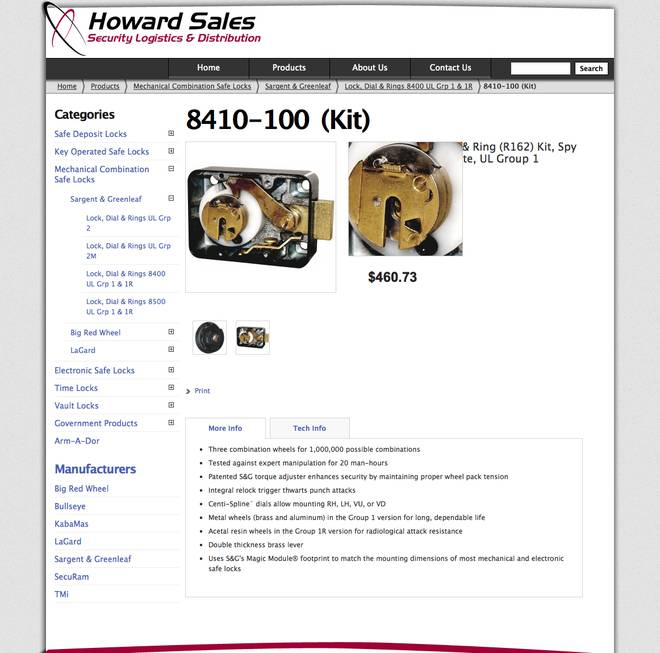 Howard Sales - Product - Image